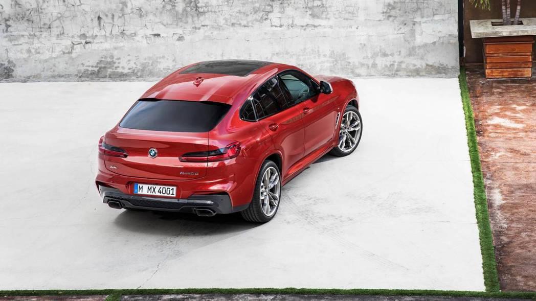 圖為全新BMW X4。 摘自BMW