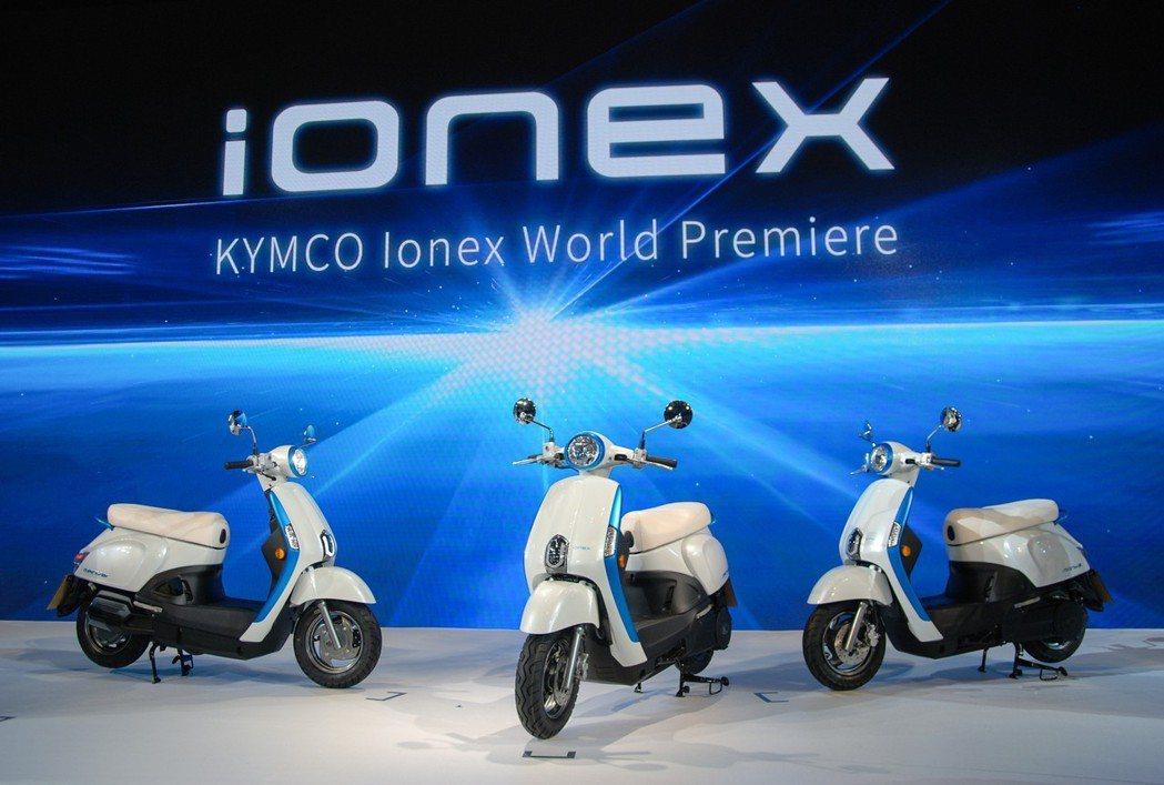 光陽日前於東京發表 Ionex 車能網,同時Many EV展示車也一同亮相。 記...