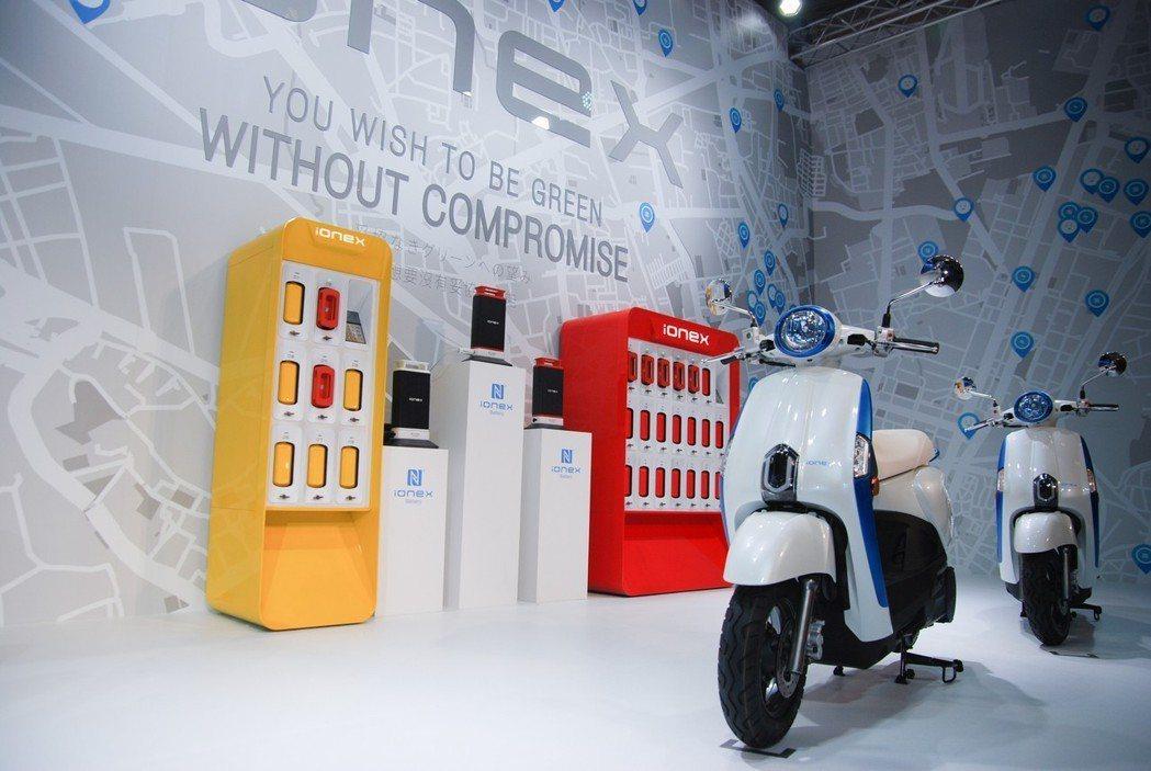 Ionex 車能網將以台灣為首發地區,除了今年即將上市的新車外,未來三年內也會推...