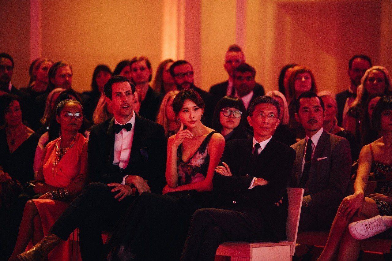 林志玲出席瑞典斯德哥爾摩全球變革大獎典禮。圖/H&M提供