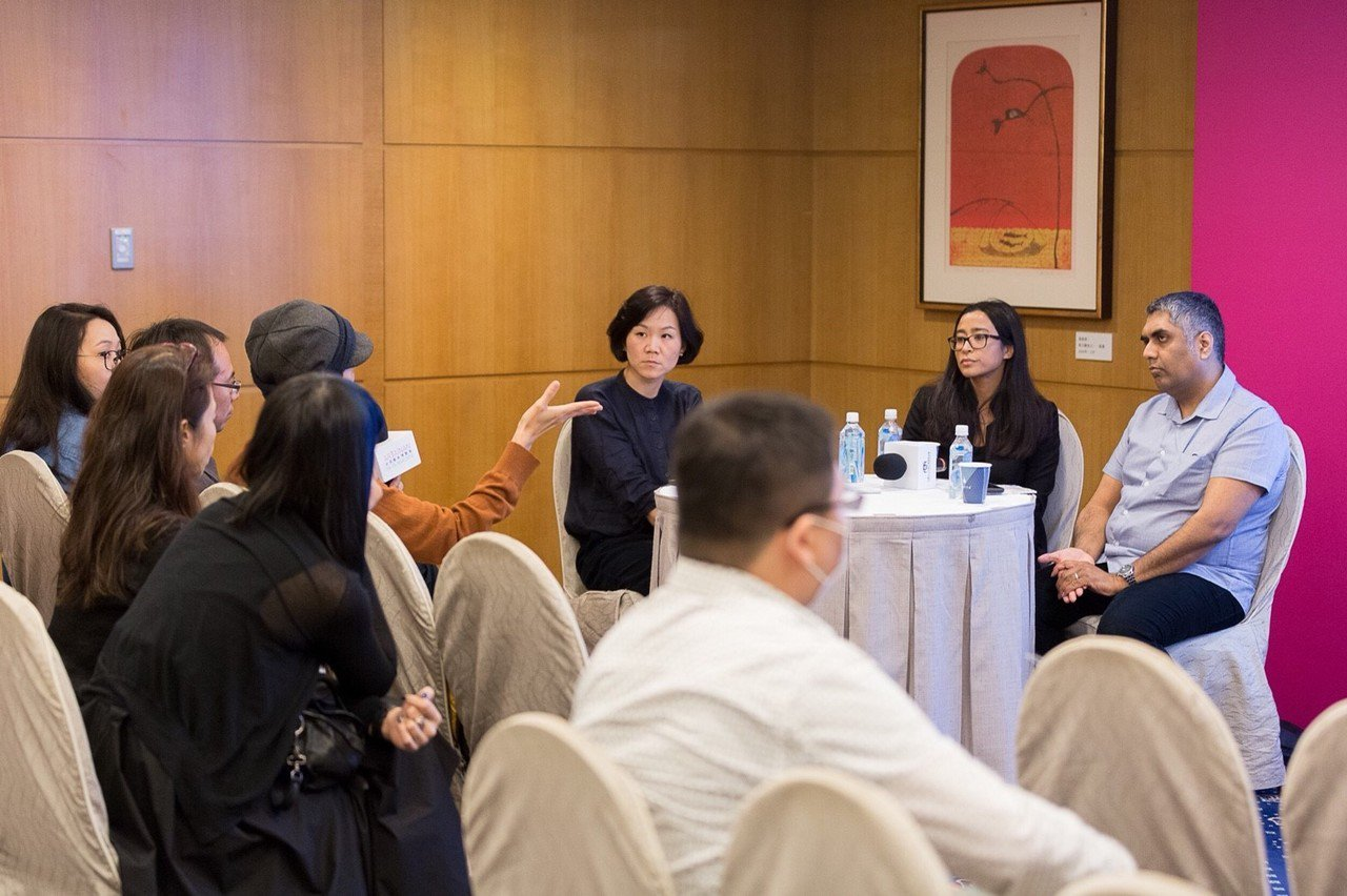 《2018臺南新藝獎國際藝術家創作分享》講座現場