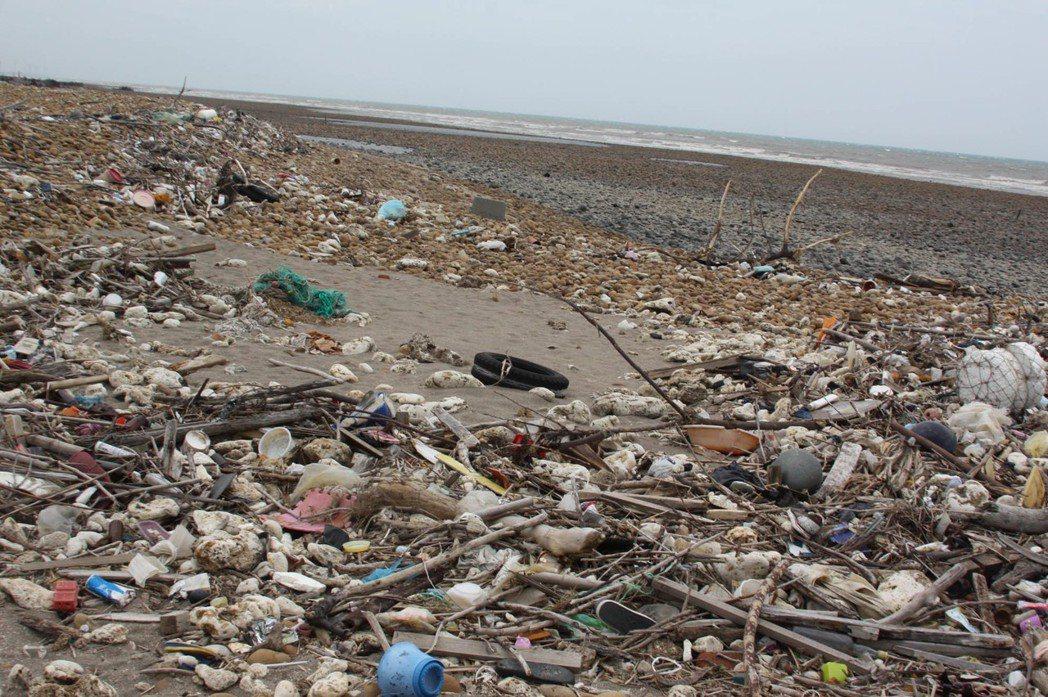 台灣每年使用30億根吸管,塑膠袋年使用165億個,這些一次性使用的塑膠製品,因為...