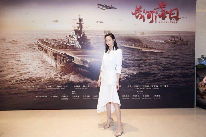 張鈞甯在上海出席活動身穿MICHAEL KORS Collection系列。圖/...