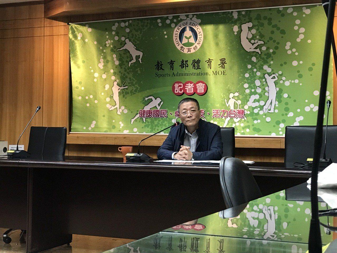 體育署已發函給桌球協會與殘障體育運動總會核予警告1次。記者劉肇育/攝影