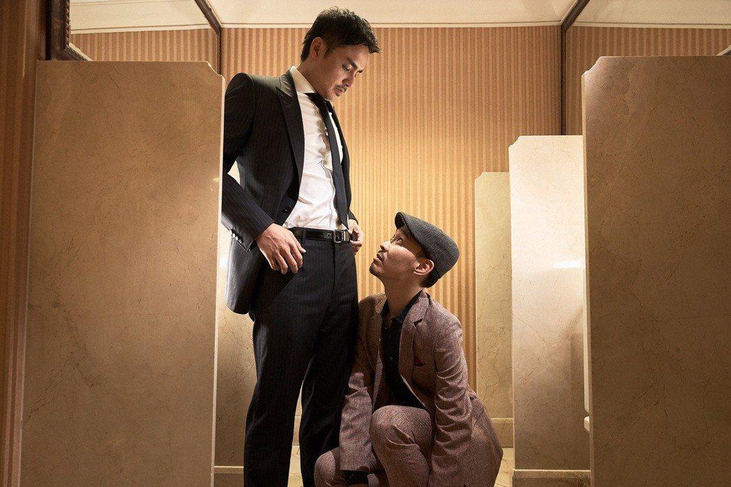 明道獻出從影以來最大尺度男男親密戲,自嘲與張少懷「融為一體」。圖/威視提供