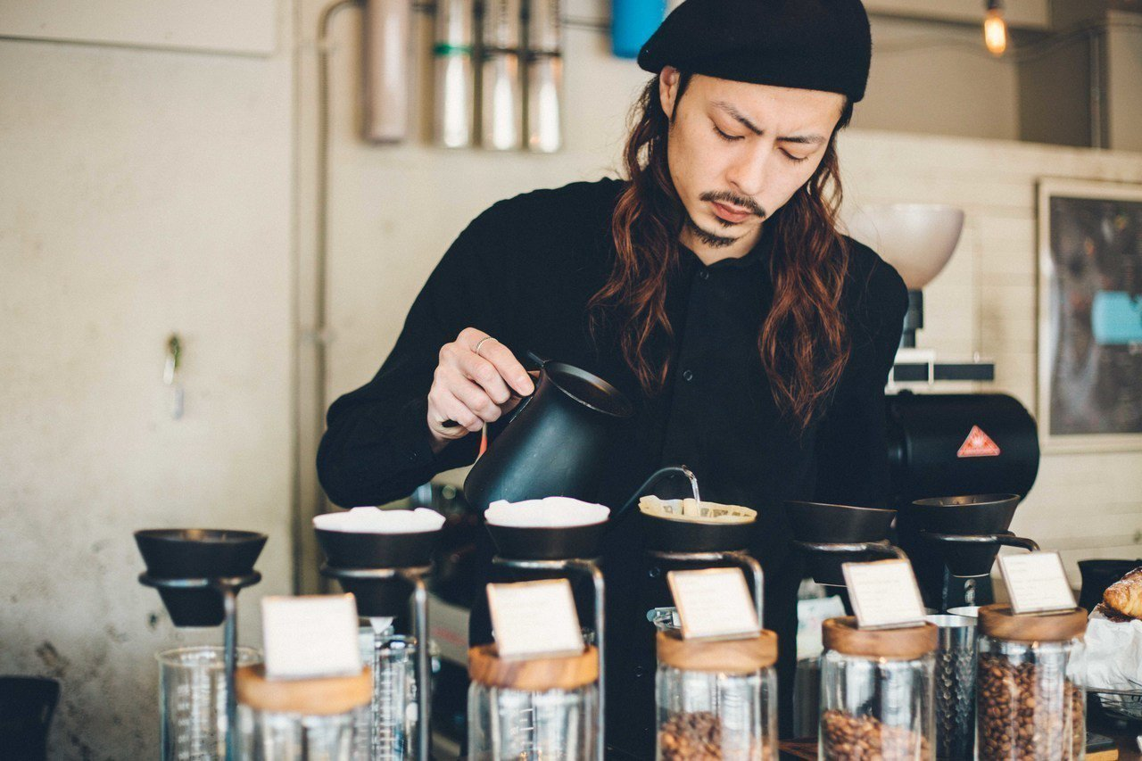 日本出攤品牌GLITCH COFFEE & ROASTERS。圖/富錦樹提供