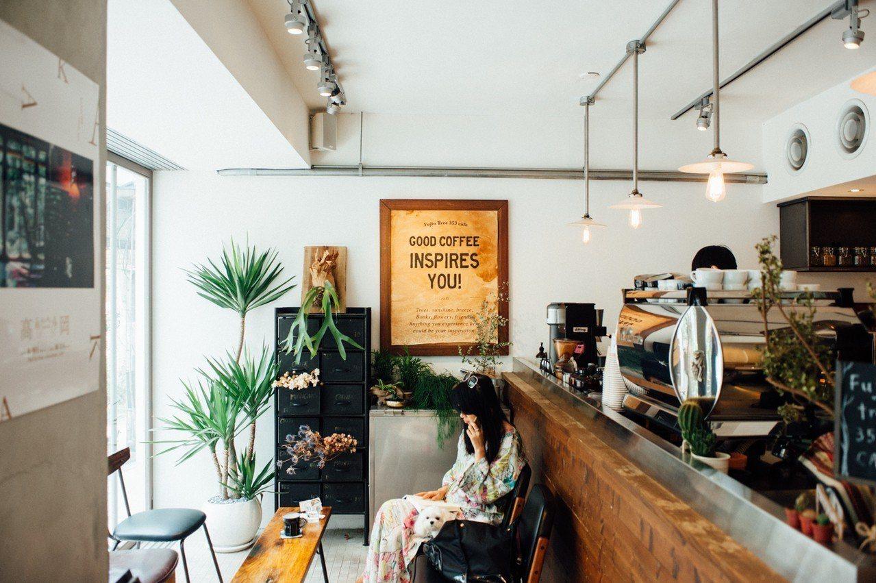 台灣出攤品牌Fujin Tree Cafe 富錦樹咖啡店。圖/富錦樹提供