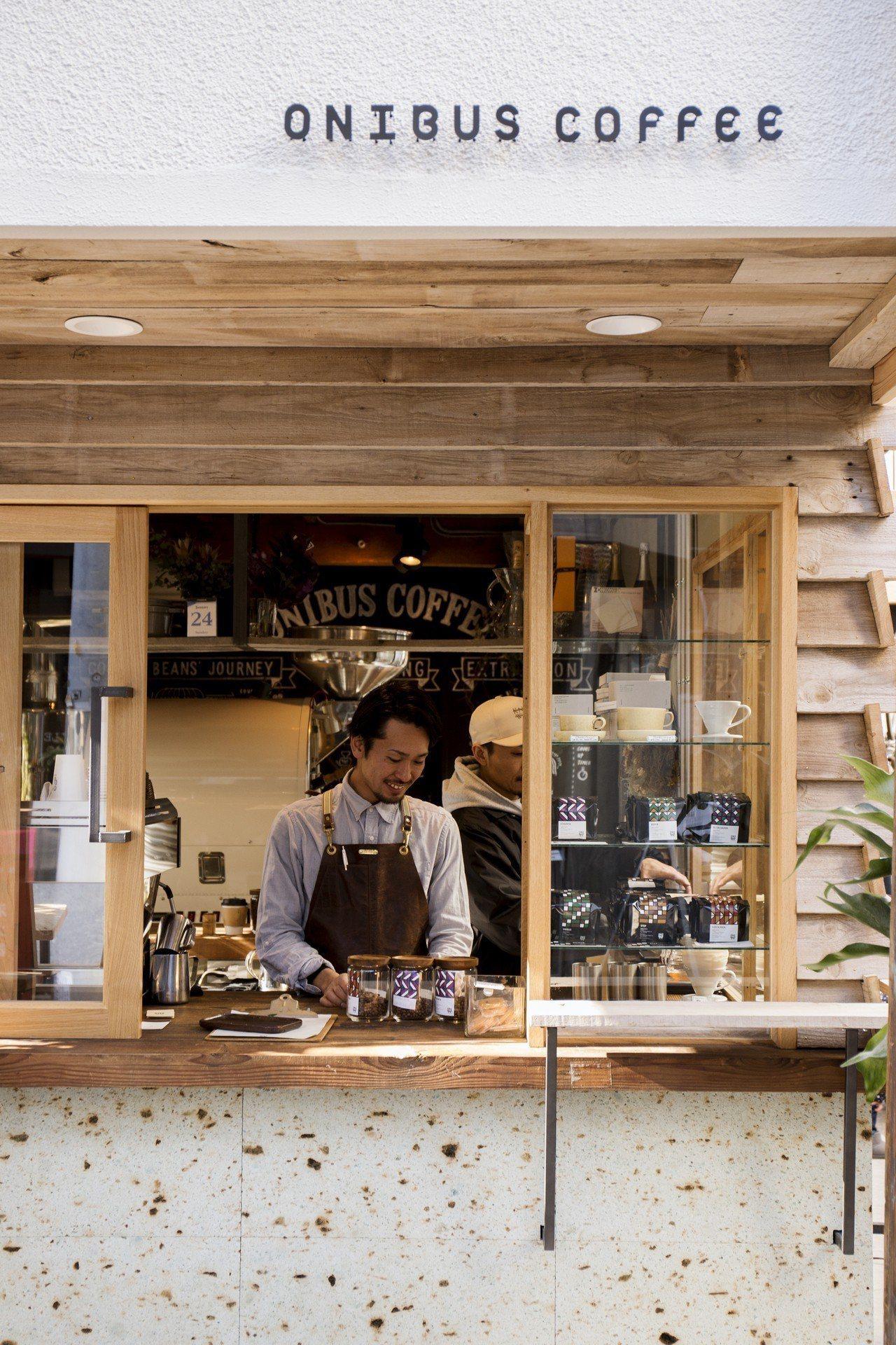 東京人氣咖啡ONIBUS COFFEE。圖/富錦樹提供
