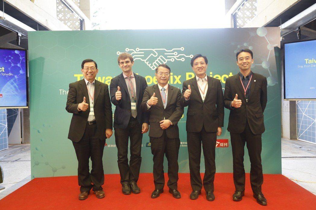 生技中心正式啟動生技醫藥的跨領域加速器計畫,出席者包括南台科技大學講座教授蘇益仁...