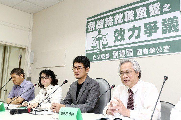 律師陳達成(右1)。圖/報系資料照