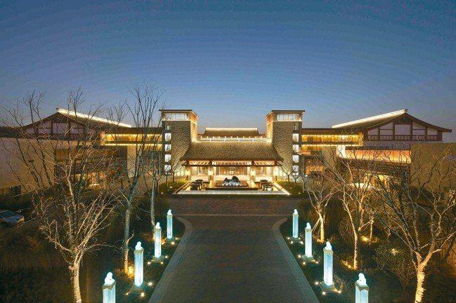 西安臨潼悅椿溫泉酒店。 圖/悅榕集團