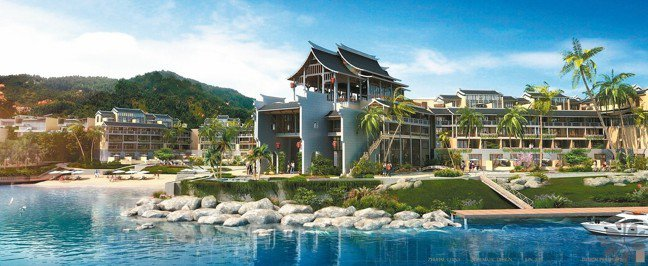 珠海鳳凰灣悅椿度假酒店外觀。 圖/悅榕集團