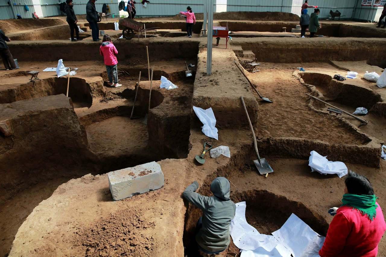 牛推官南遺址面積約600平方米。濟南市考古研究所2018年1月正式對其進行搶救性...