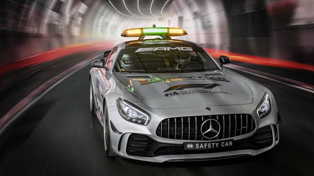 品牌最強跑車,擔任F1安全車當之無愧。 摘自Mercedes-AMG