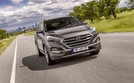 Hyundai休旅軍團齊聚 小改款Tucson紐約車展亮相