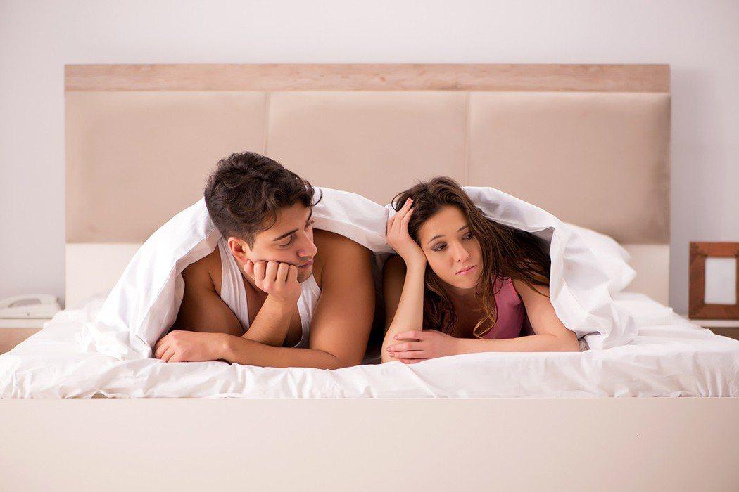 男性在性愛中最怕女性感到不滿意或者冷淡。 圖片/ingimage