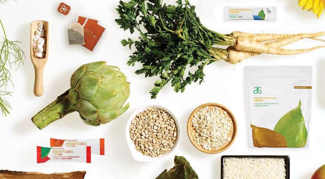 艾薾保推出「30天邁向健康生活計畫」產品組,全系列共七種產品,並規劃每天的建議飲...