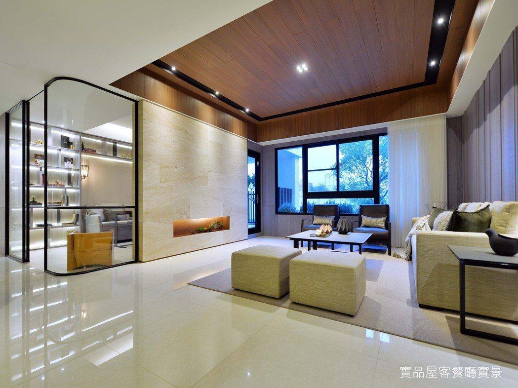 新居家風水宅,營造開闊空間美學,創造最舒適宜人的居家環境。 圖片提供/和通建設