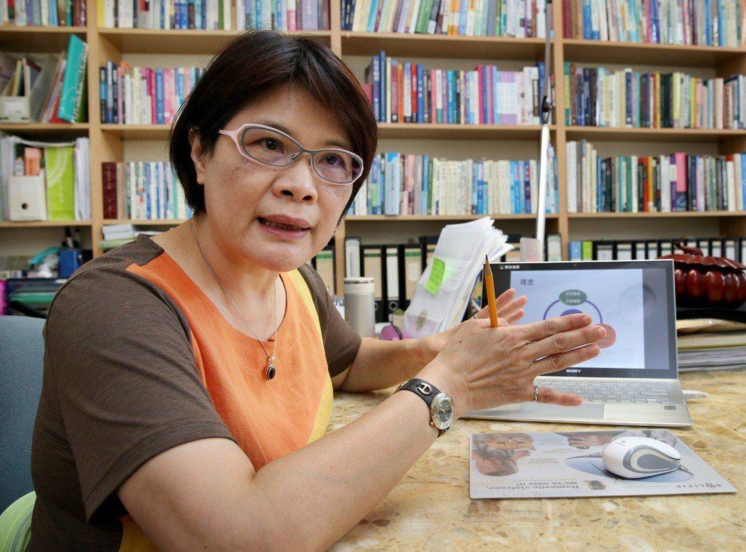 台大社工系副教授劉淑瓊指出台灣社會對暴力高度容忍,包括肢體、言語、精神暴力,我們...