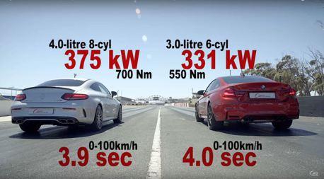 (影片)日耳曼民族內戰 C63 S Coupe vs. M4 Competition誰才是德系轎跑之王!