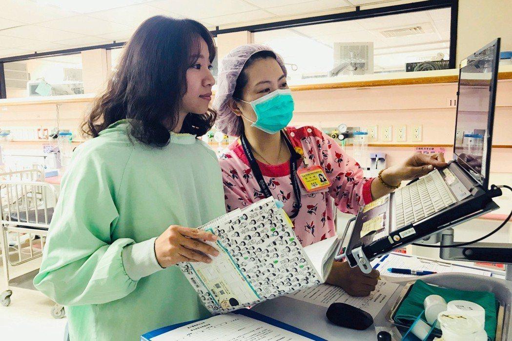 醫務社工是臨床團隊不可或缺的重要成員。圖為3月21日甫獲新竹市第三屆社工「明日之...