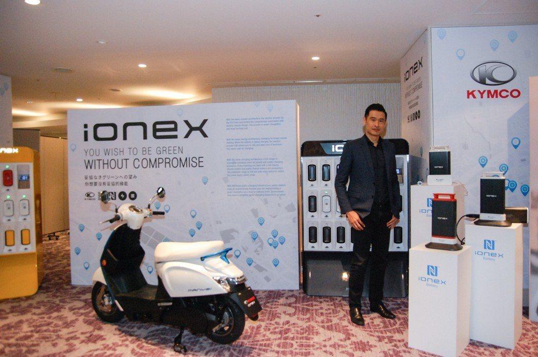 藉此次專訪機會,記者針對 Ionex車能網理念、光陽未來電動車產品規劃與 Noo...