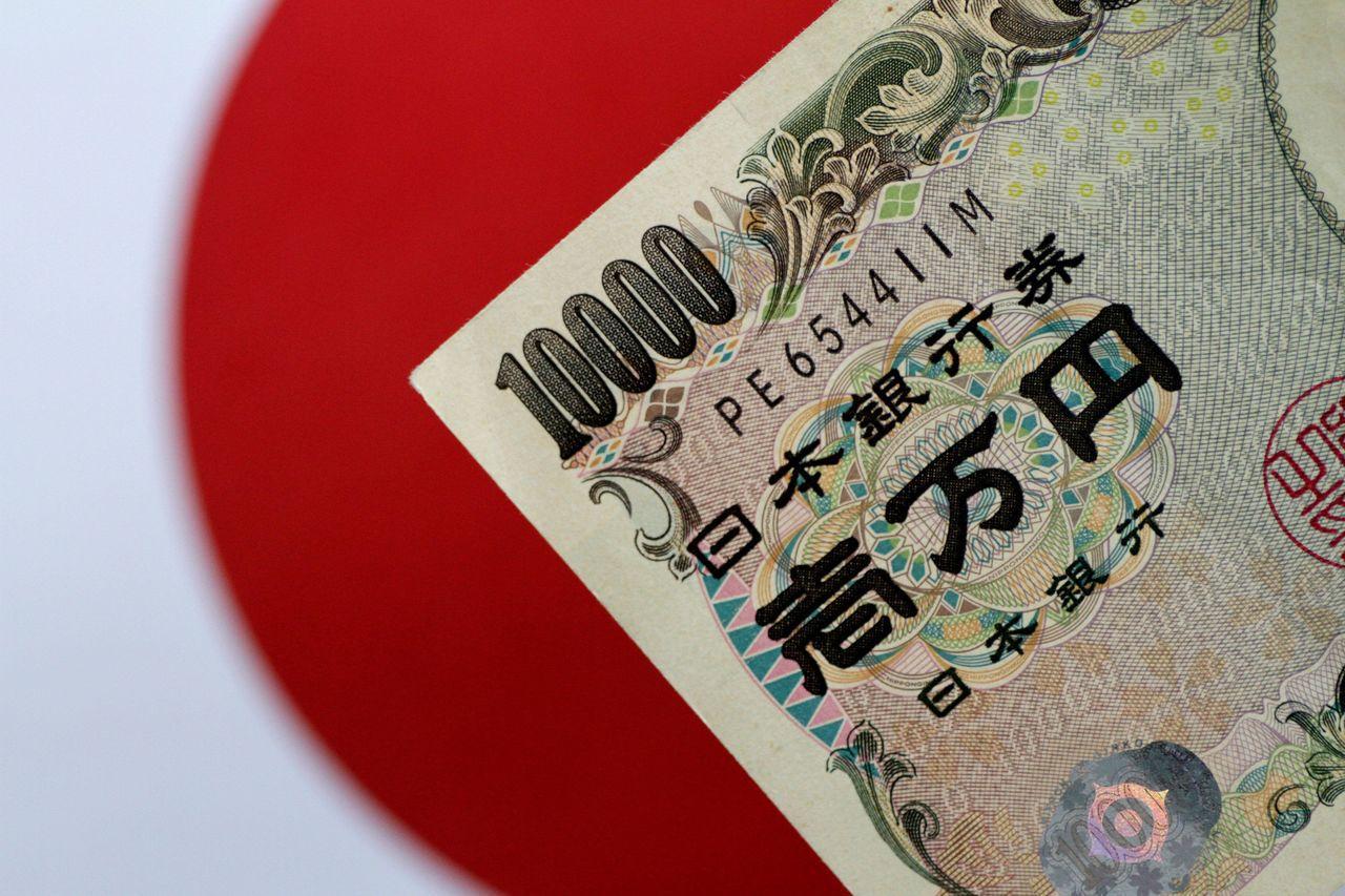 日圓兌美元2016年11月來首度升逾105日圓大關。路透
