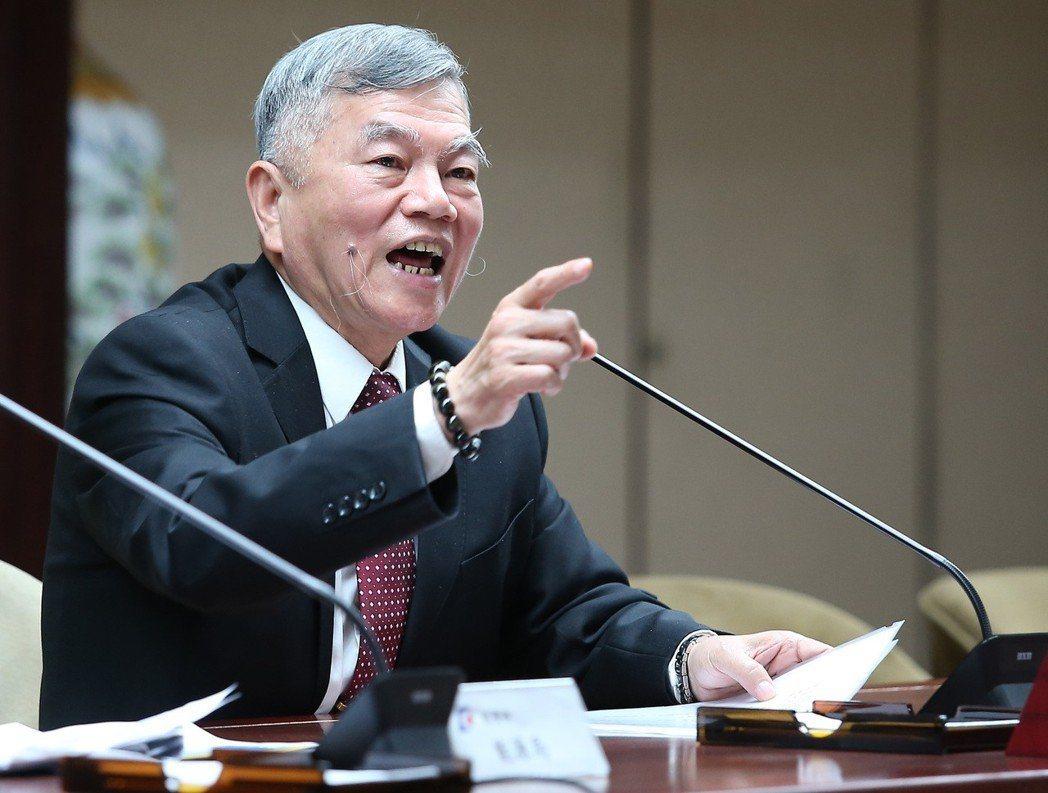 美中貿易戰衝擊台灣? 經濟部長沈榮津表示,要等清單出來才能分析。聯合報系資料照片