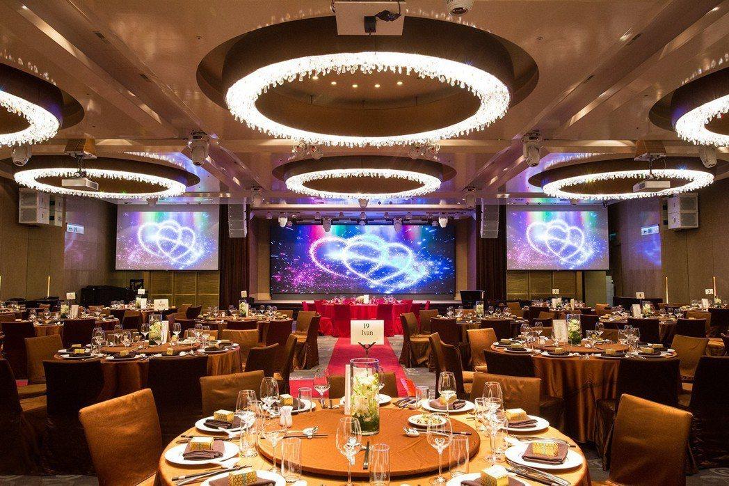 台北國賓斥資千萬投資婚宴廳。圖/台北國賓提供
