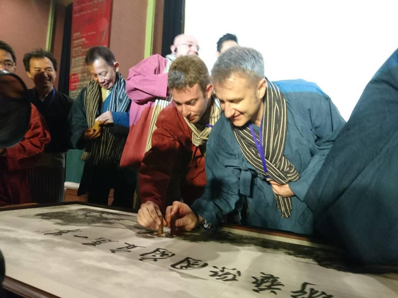 第一屆國際藝術主席會議今天在宜蘭縣史館開幕,這場國際盛會由宜蘭縣政府、宜蘭市公所...
