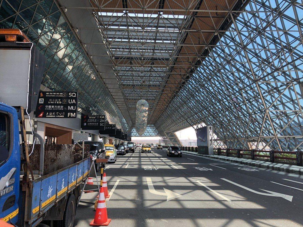 桃園國際機場是台灣門戶,第二航廈擴建工程正在進行。記者陳妍霖/攝影