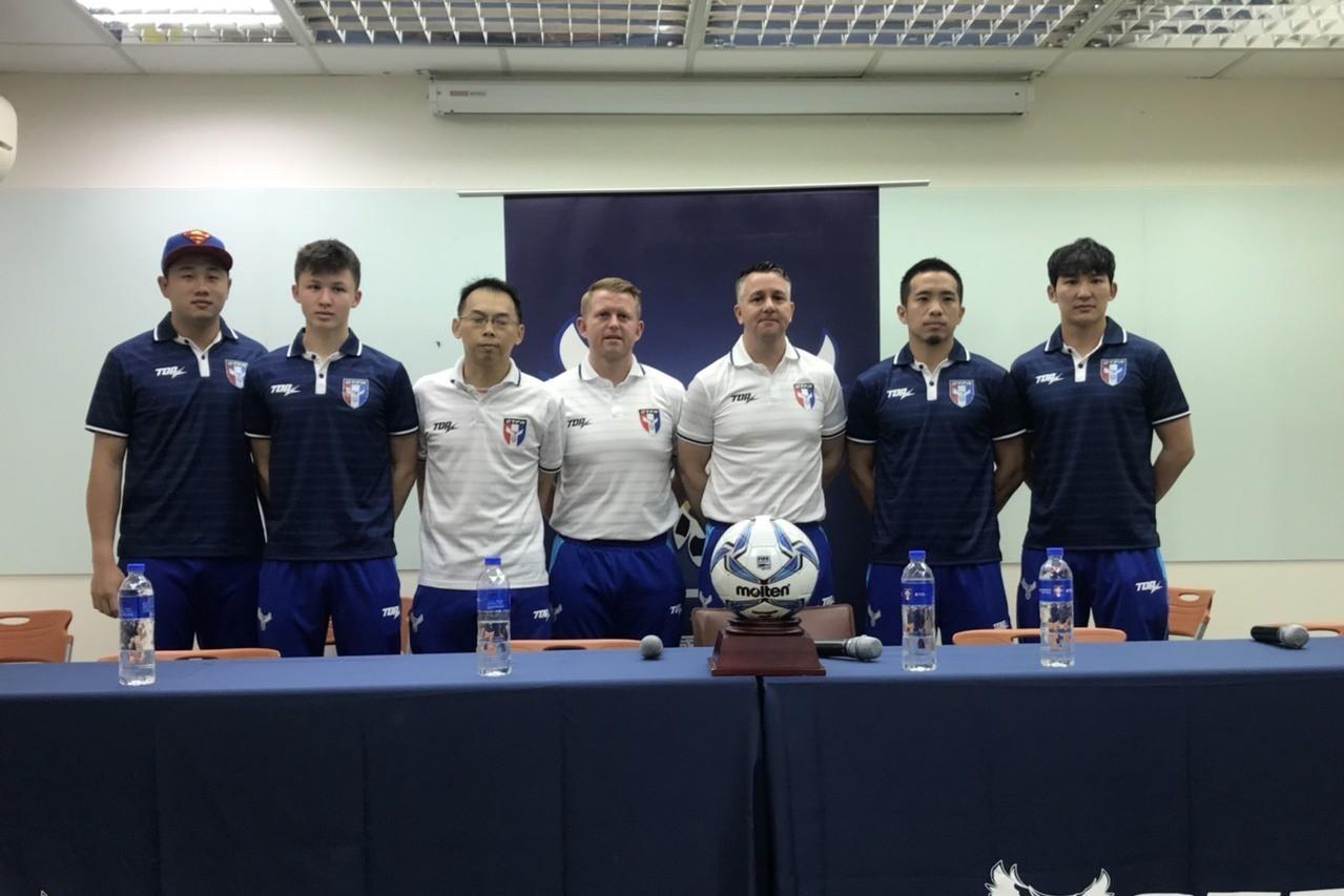 中華男足將在25日舉辦簽票會。記者劉肇育/攝影