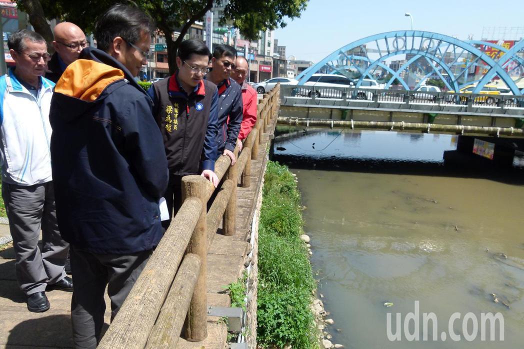 梁為超要求河川防洪、生態並重。記者鄭國樑/攝影