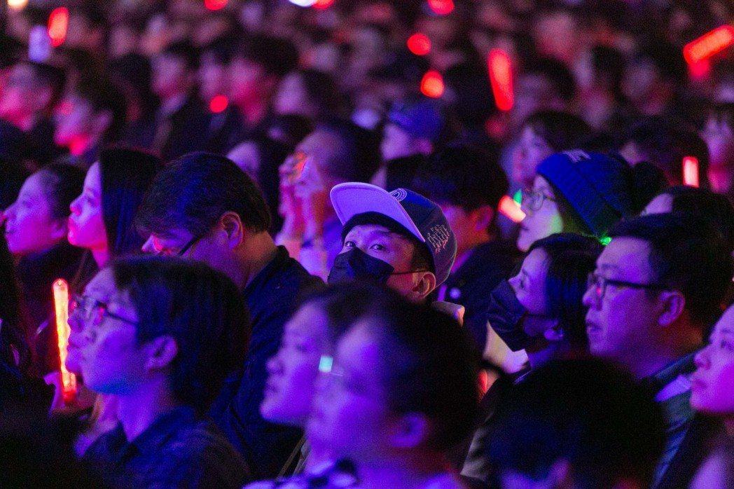 林俊傑現身台下看演唱會。圖/IME提供