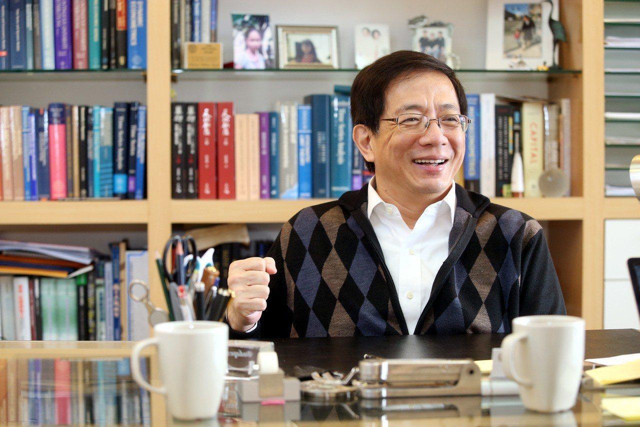台大新任校長管中閔。 圖/聯合報系資料照片