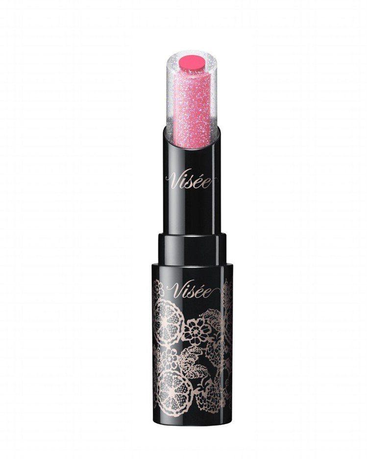 Visee光漾果凍夾心唇膏,售價380元,共3色。圖/Visee提供
