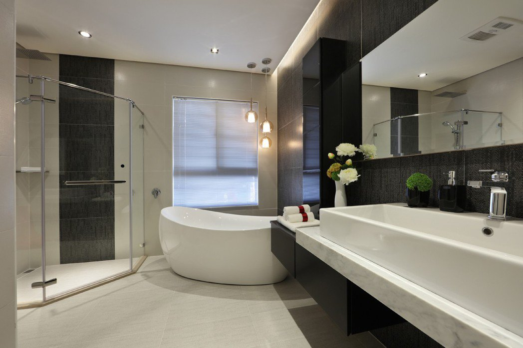 樣品屋實景:飯店式衛浴精品,打造居家頂級生活享受。 圖片提供/華尚建設