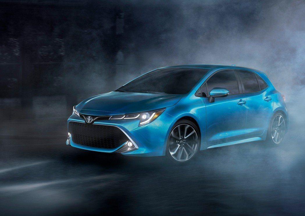 Auris美規兄弟,Toyota Corolla Hatchback亮相。 摘自...