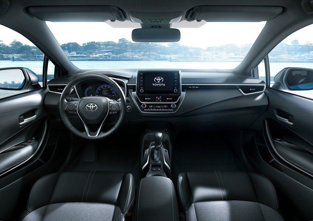 終於一窺新五門神車內裝真面目。 摘自Toyota