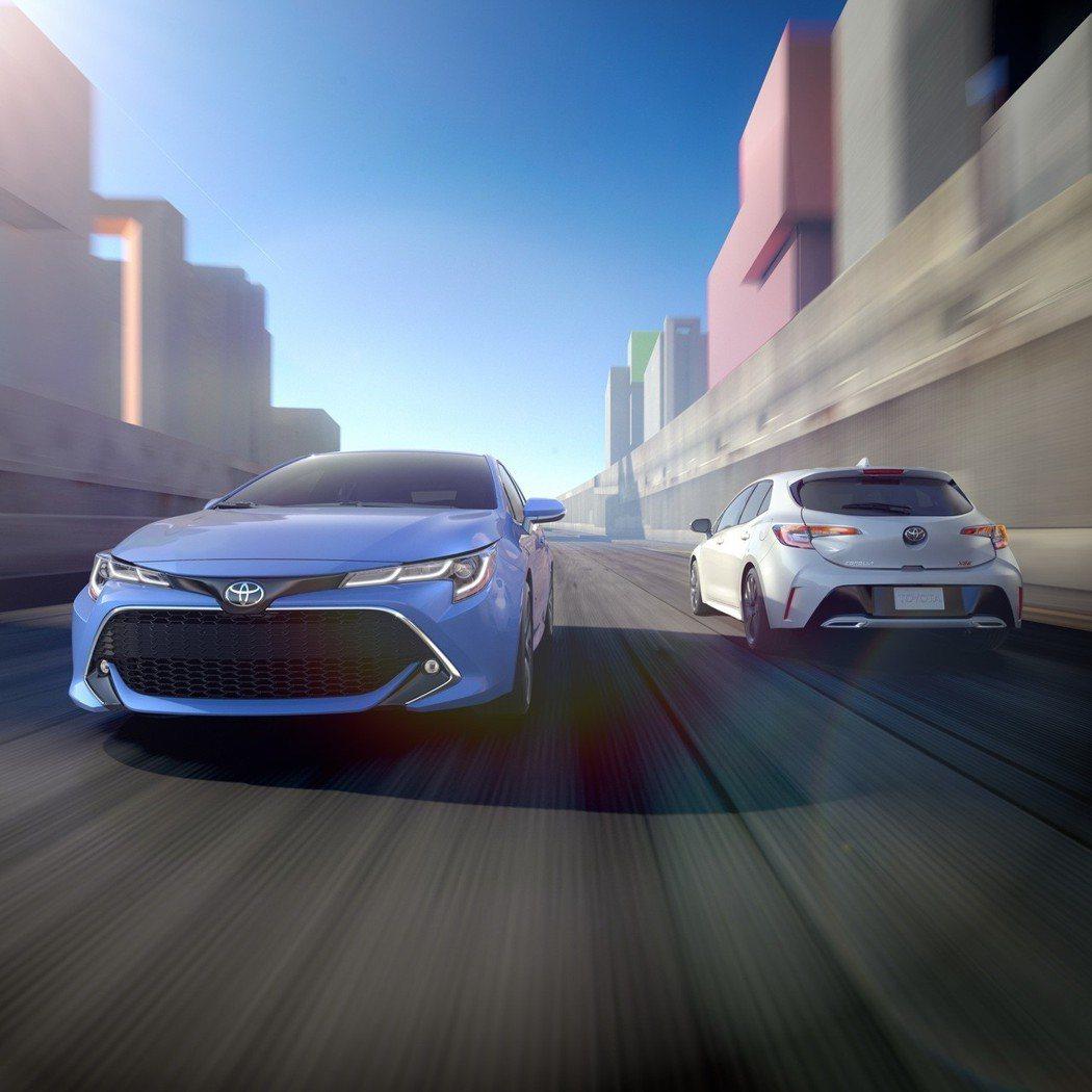 圖為全新Toyota Corolla Hatchback。 摘自Toyota