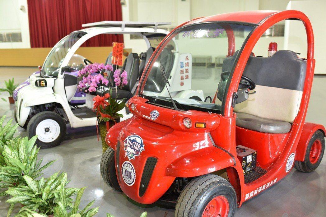 明道大學應用科學院,於2003年首度發表第一代氫能車,也是第一個提出氫能車概念的...