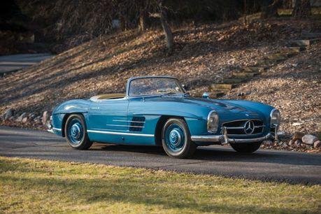 1962年的Mercedes 300 SL 優雅經典釋出