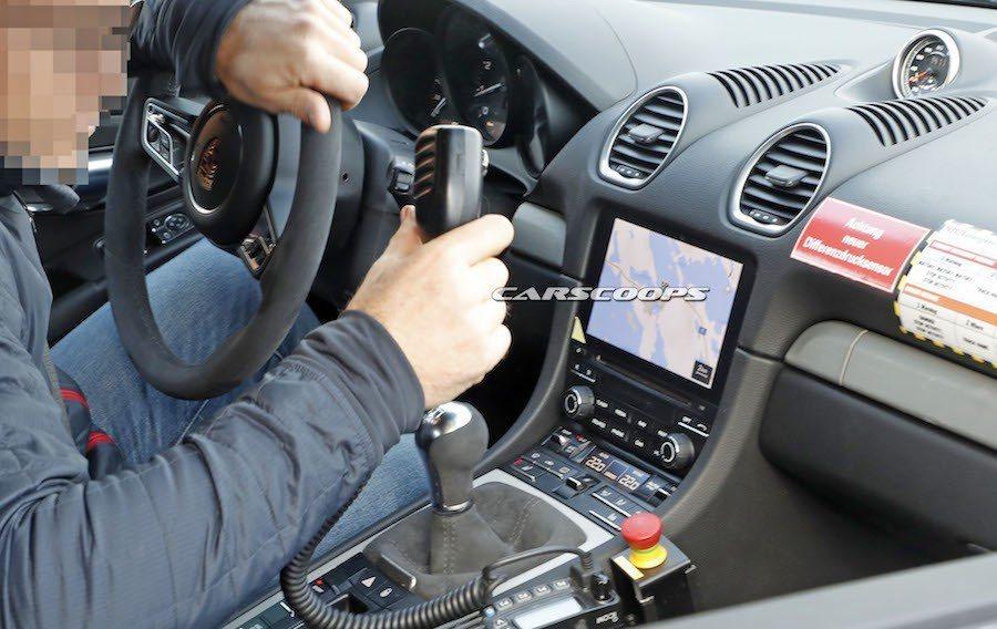全新Boxster Spyder測試車。 摘自Carscoops.com