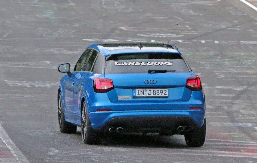 偽裝車有著4出排氣管,看樣子為性能版本。 摘自Carscoops.com
