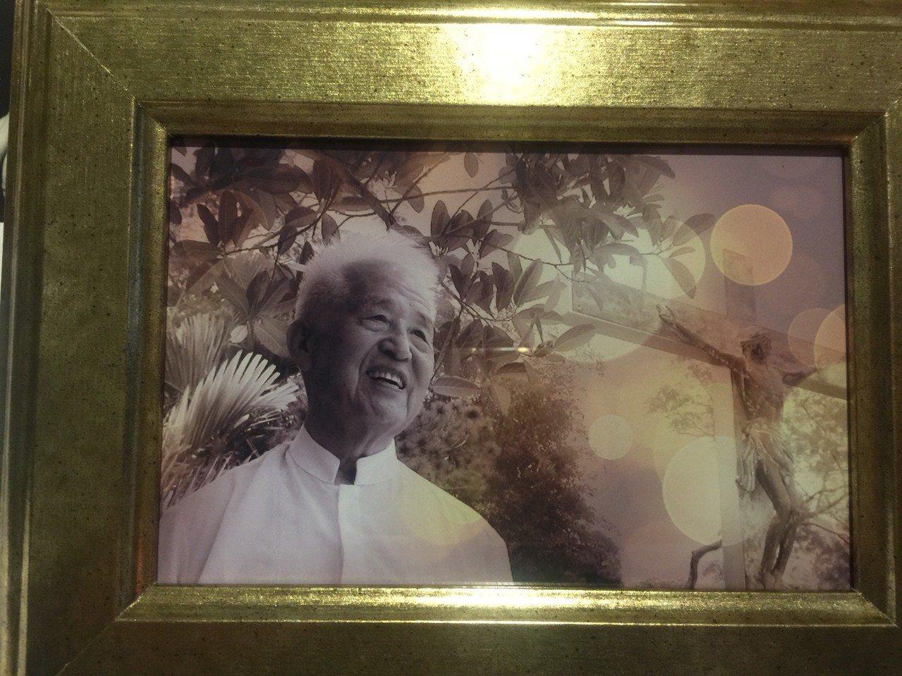 天主教聖言會傳教士百歲人瑞神父陳錫洵,21日蒙主寵召。記者魯永明/翻攝