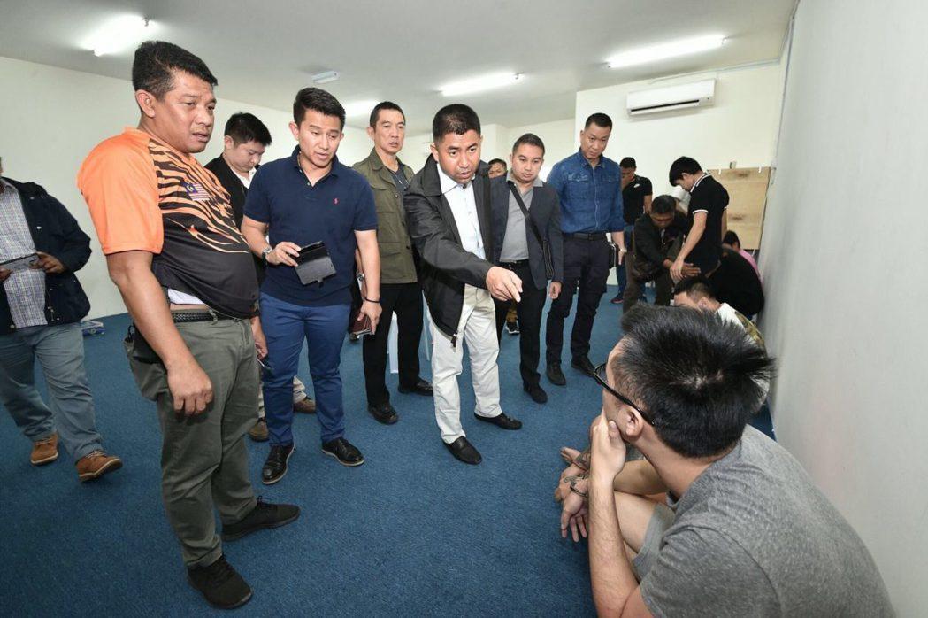 刑事局與馬來西亞、泰國警方合作,破獲詐騙集團。照/刑事局提供