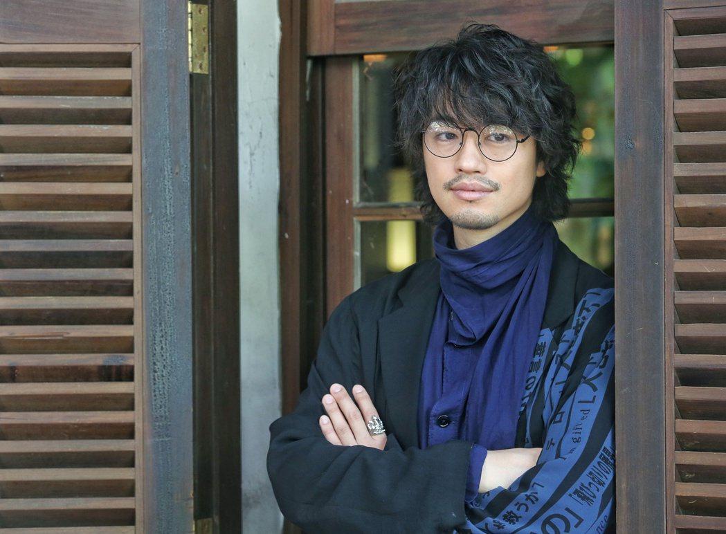 專訪「多桑不在家」導演齊藤工。記者鄭清元/攝影