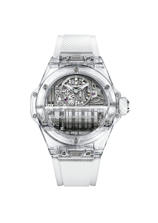 宇舶Big Bang Sapphire MP-11腕表,具14天動力儲存,約32...