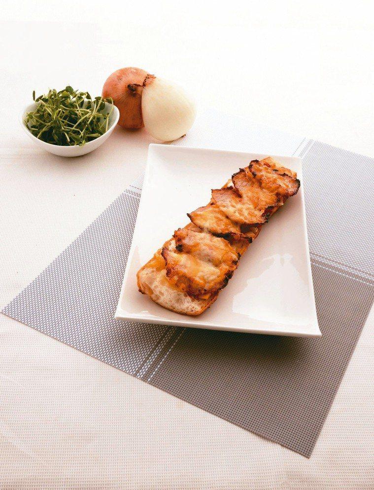 松坂豬法國長棍三明治 圖/天和鮮物提供