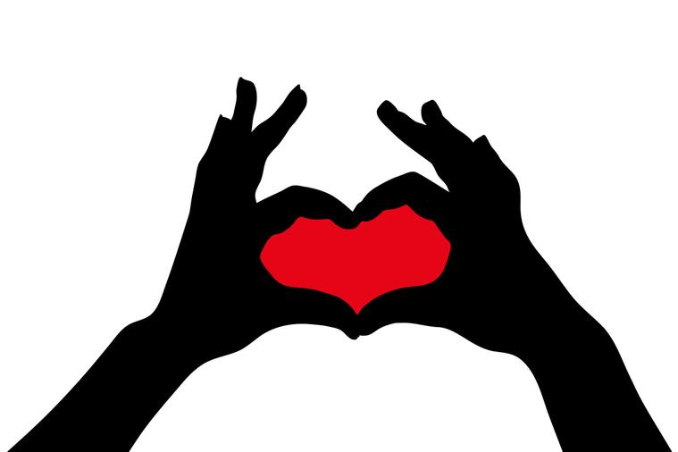 心臟的形狀一點也不像愛心符號,但兩千多年以來,這個符號卻一直被拿來代表心臟。 圖...